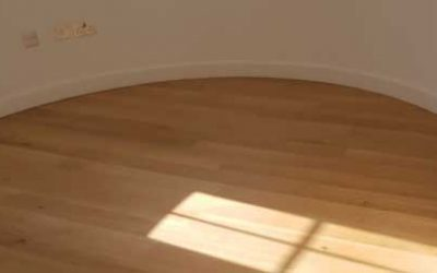 Engineered flooring with Oslo oil